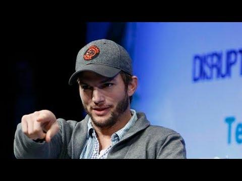 Ashton Kutcher's Investment Strategy | Disrupt NY 2013