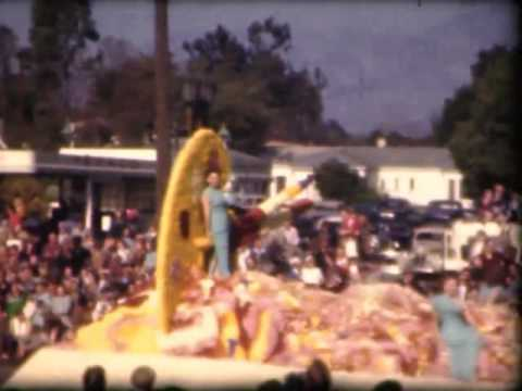 1947 Rose Parade - 8mm Amateur Home Movie