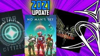 Elite Dangerous VS No man's sky VS Star Citizen (2021 update)