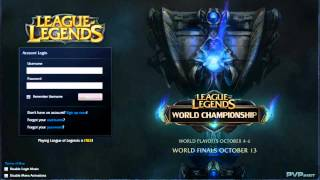 LoL - Client Login BGM (Season 2 World Championships) [Extended]