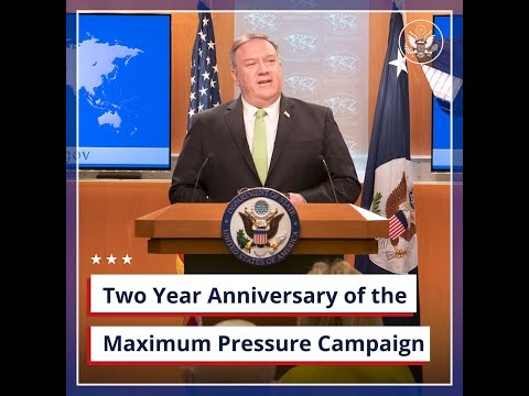 Two Year Anniversary of the Maximum Pressure Campaign