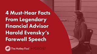 4 Must-Hear Facts From Legendary Financial Advisor Harold Evensky