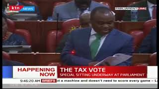 This is the Order of Business (today) at Kenya\'s National Assembly