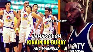 Lamar Odom KINAIN NG BUHAY Ang Magnolia