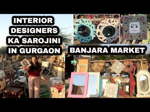 BANJARA MARKET TOUR WITH ME + HAUL | BEST & CHEAP HOME DECOR IN GURGAON
