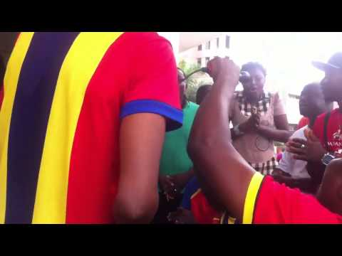 Hearts supporters in hot jama session ahead of Kotoko clash
