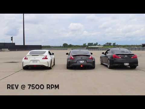 3 AMAZING! VQ's meisterschaft exhaust sound (*NEW VIDEO*)
