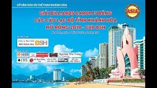FINAL Billiards Cup BSH Khánh Hòa. TRẦN THANH LỰC - NGUYỄN THÀNH THẬT
