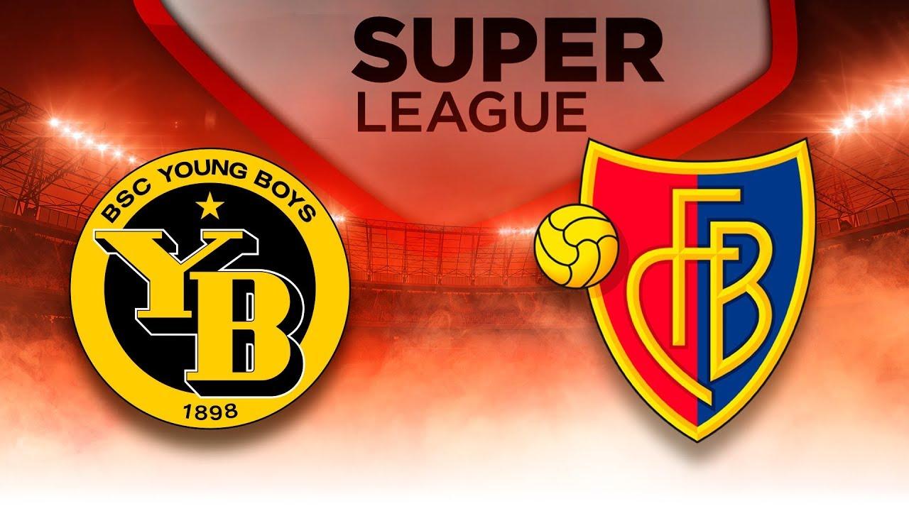 FC Basel vs. BSC Young Boys (3:1) Raiffeisen Super League