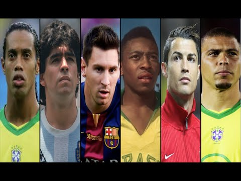Top 10 Football Dribblers of All time • HD