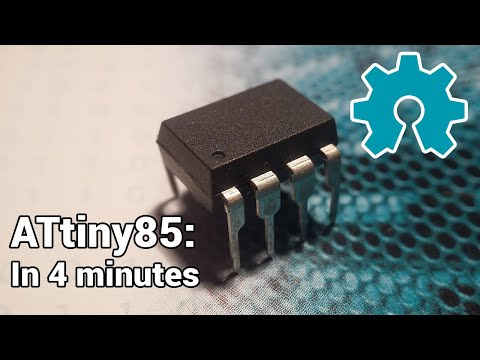Arduino Tutorial – ATtiny85 Explained In 4 Minutes!