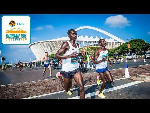 Highlights: 2017 FNB Durban 10K CITYSURFRUN Elite Men Last 1KM
