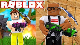 FORTNITE IN ROBLOX (Worst Fortnite Player EVER)