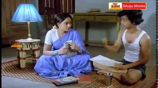 Repeat youtube video RajendraPrasad & Aruna Bathroom  Scene - Samsaram Oka Chadarangam Movie