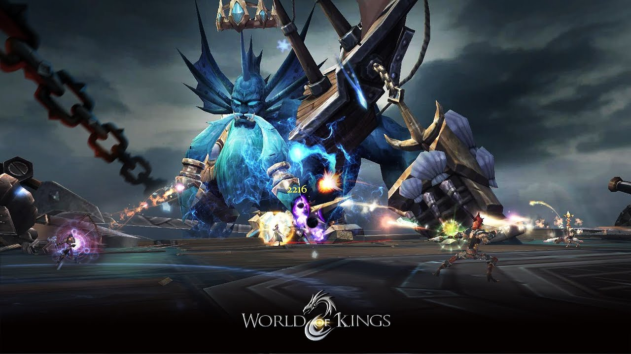 World of Kings - first Impressions new Mobile MMORPG