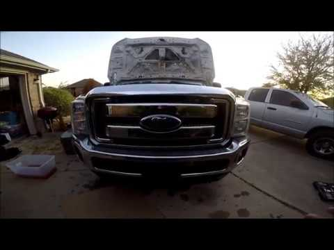 Salvage Truck 2007 Ford F350 with 11+ Front End Conversion Hack Job (Very Dangerous)