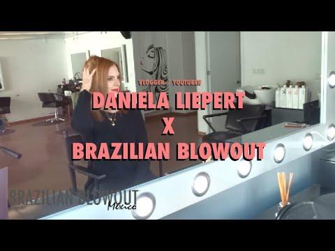 Daniela Liepert x Brazilian Blowout México  Sorprendente estilo Sin Frizz