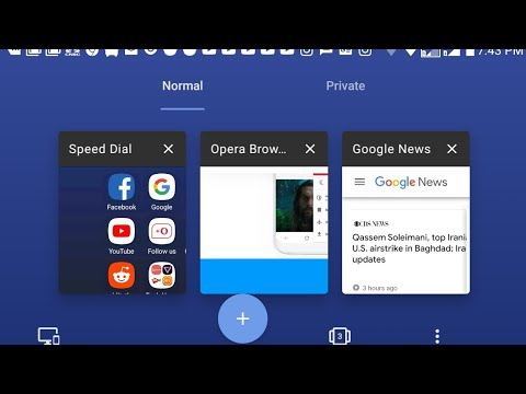 2020 - A Look @ #Opera #Browser With #Free #VPN For #Android - #Version 55 - #January 3