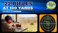 .22 Rifles At 100 Yards