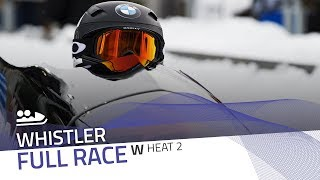 Whistler | BMW IBSF World Cup 2017/2018 - Women's Bobsleigh Heat 2 | IBSF Official