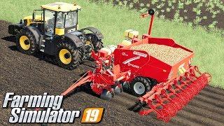 Sadzenie ziemniaków - Farming Simulator 19 | #34