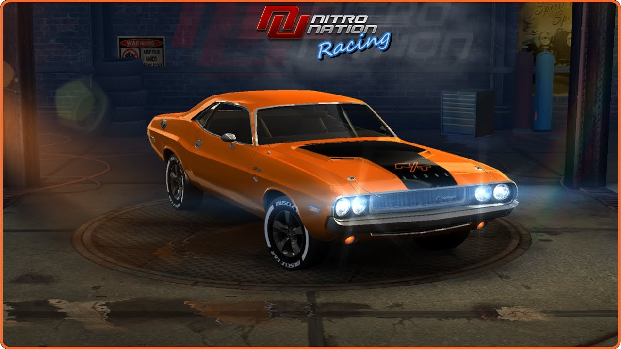 Nitro nation online dodge challenger r t auto car gameplay hd youtube