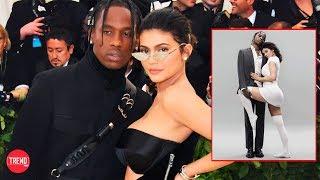 Así fue la candente sesión de Kylie Jenner y Travis Scott para la portada de revista GQ!