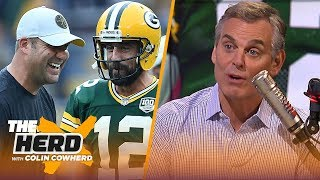 Colin Cowherd on why Aaron Rodgers is comparable to Big Ben and not Tom Brady | NFL | THE HERD