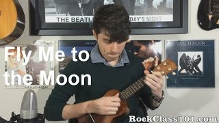 'Fly Me To The Moon' - Frank Sinatra: Ukulele Free Lesson