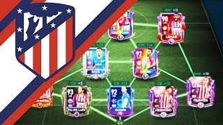 FULL ATL MADRID SPECIAL CARDS SQUAD BUILDER! FAREWELL GRIZZY! FIFA MOBILE 19