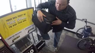 Spirit Airlines personal item carry-on bag Americian Touristr Atmosphera