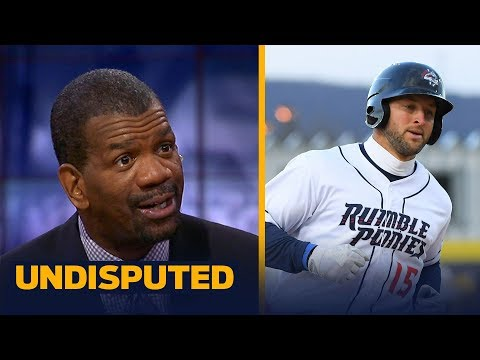 Rob Parker on Tim Tebow's HR in Double-A debut | UNDISPUTED
