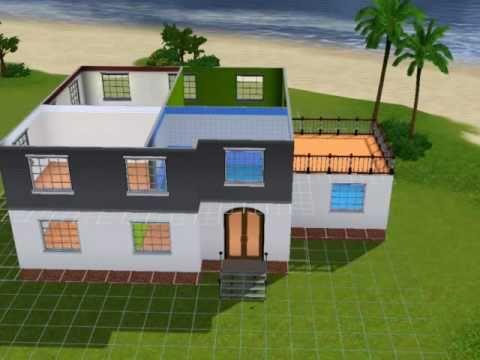 los sims 3 construyendo una casa youtube