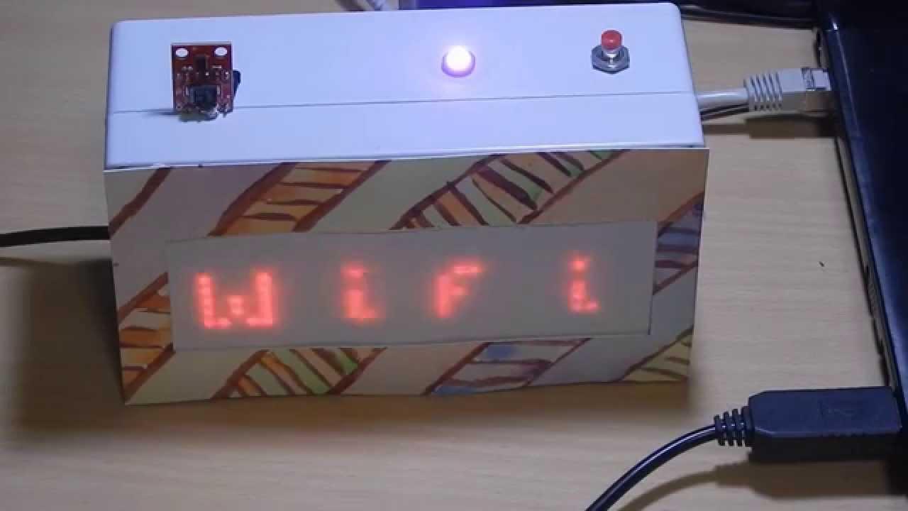 Arduino DIY clock - wifi connection