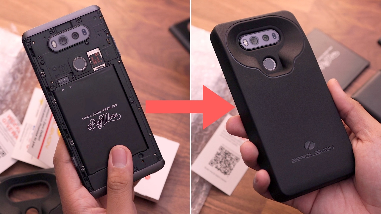 innovative design 38301 e0394 10,000mAh Battery Case for the LG V20! [ZeroLemon]