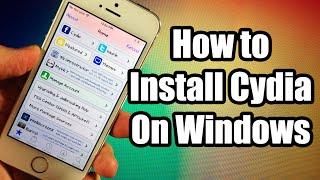 How to Install Cydia on Windows on iOS 8