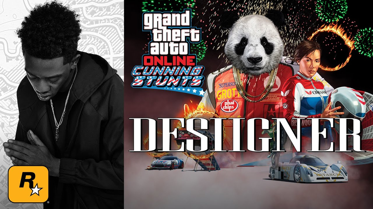 Desiigner playing Cunning Stunts - Hosted by Typical Gamer (GTA Online Live Stream) - Desiigner playing Cunning Stunts - Hosted by Typical Gamer (GTA Online Live Stream)