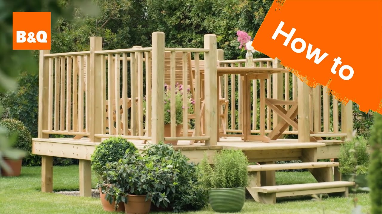 How To Build A Raised Deck Youtube