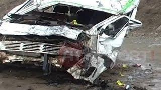 A1 Report - Kukës, aksident tragjik, furgoni bie në humnerë, 6 të vdekur