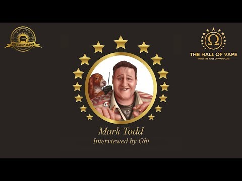 The Hall of Vape 2018 - Interview with Mark Todd (English)