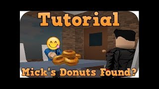 ALL OF MICKS DONUTS LOCATIONS!!! RoCitizens Roblox