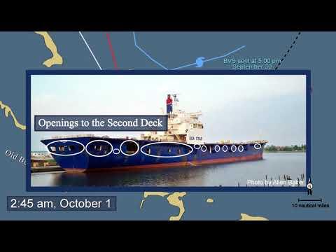 Sinking of US Cargo Vessel SS El Faro