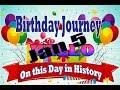 Birthday Journey January 5 New