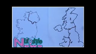 Can you draw the border with northern ireland?