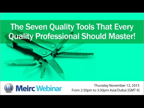 The 7 quality tools | Quality and Productivity | Dubai | Meirc