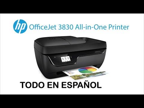 HP OfficeJet 3830 todo sobre configuracion