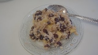 Ячневая каша на завтрак