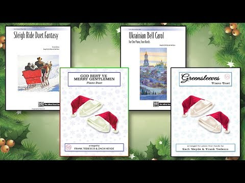 CHRISTMAS IS COMING | Piano Duet Sheet Music Available