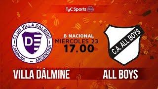 Villa Dálmine vs All Boys full match