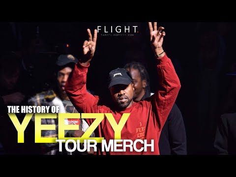 The History of Kanye West Tour Merch
